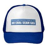 Gas anti de la costura de carbón - agua, tierra y  gorros