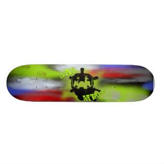 Gas Attack Custom Skateboard