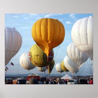 Gas Balloon Race/GBTAC01 Print