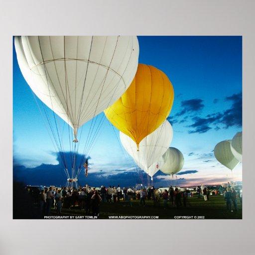 Gas Balloon Race/GBTAC14 Poster