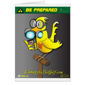"""Gas Can"" Canary Card"