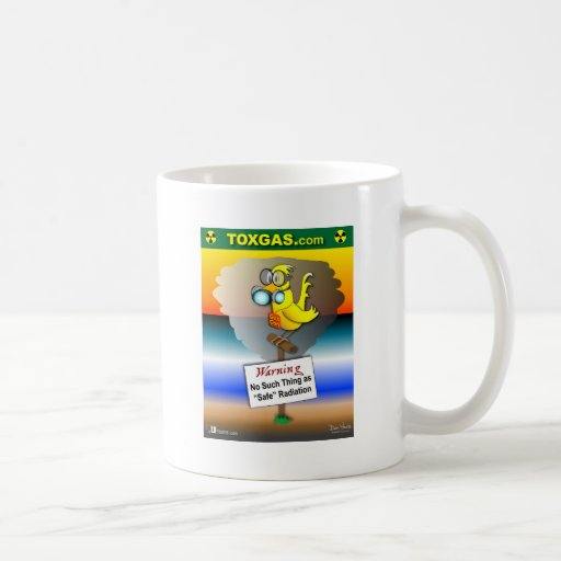 Gas Can Canary Coffee Mug