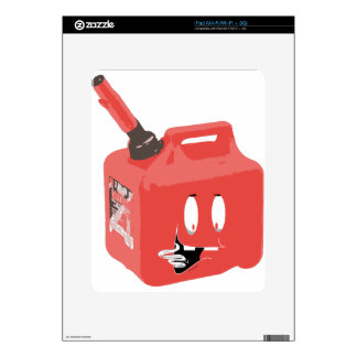 Gas-can Decals For iPad