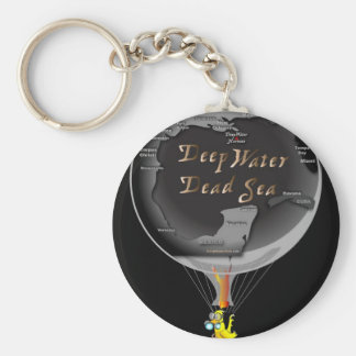 Gas Can in Gulf Blimp Keychains