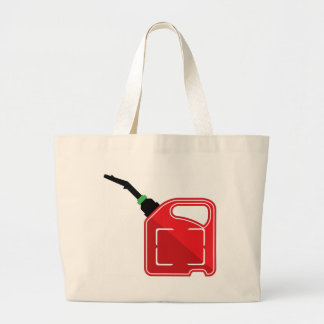 Gas Can Large Tote Bag