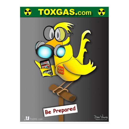 Gas Can Prepared Postcard