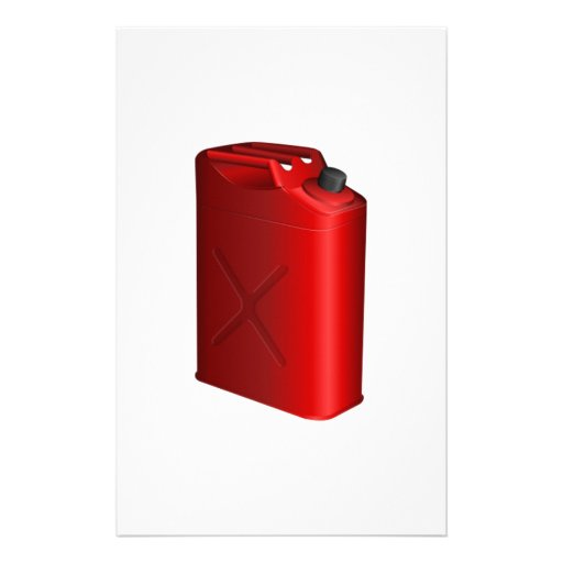 Gas Can Personalized Stationery