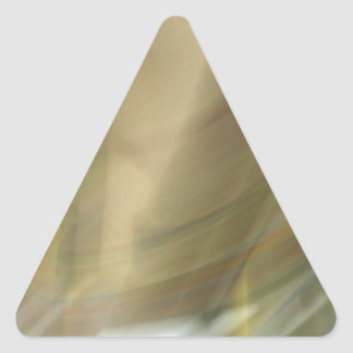 Gas cloud pattern triangle sticker