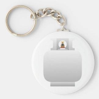 Gas Cylinder Keychain