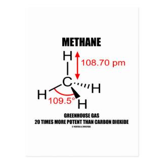 Gas de efecto invernadero del metano 20 veces más postal