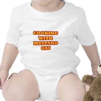 Gas de mostaza traje de bebé