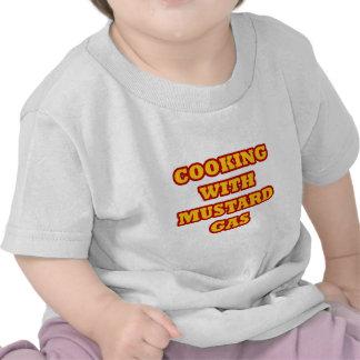 Gas de mostaza camiseta