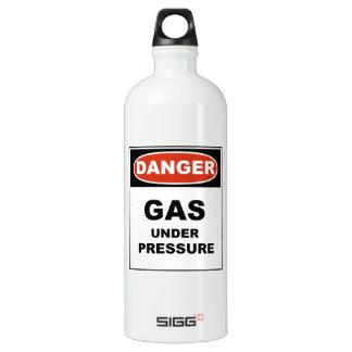 Gas del peligro bajo presión