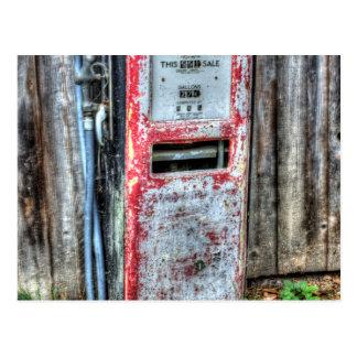 Gas Dispenser Postcard