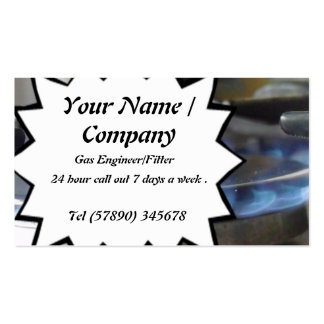 Gas Engineer/Fitter Business Card 1