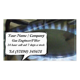 Gas Engineer/Fitter Business Card 2