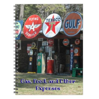 Gas, Food, and Other Expenses Notebook