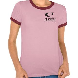 """Gas Girl"" T-Shirt in salmon (L)"