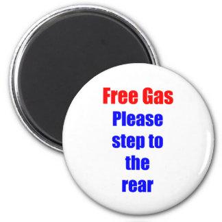 Gas libre imanes de nevera