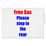 Gas libre tarjetón