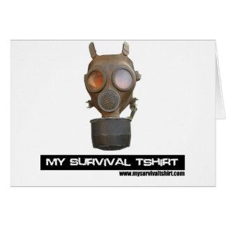 Gas Mask 06 Card