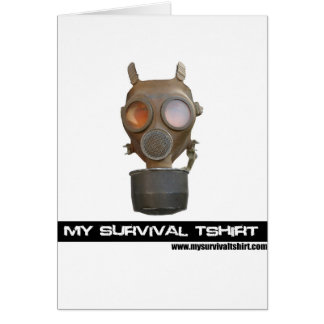 Gas Mask 06 Cards