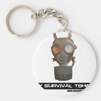 Gas Mask 06 Keychain