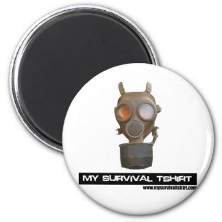 Gas Mask 06 Magnet
