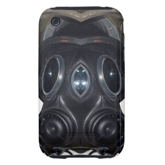 Gas Mask 4 D 2 iPhone 3 Tough Covers