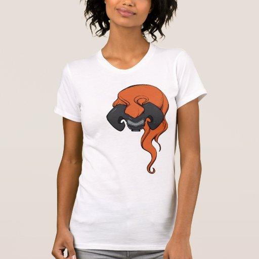Gas Mask and Big Hair #4 Tshirts