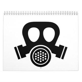 Gas mask calendar