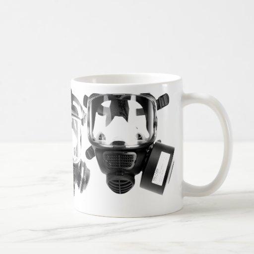 Gas mask canecas