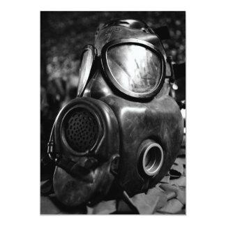 Gas mask card