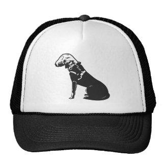 Gas Mask Doggie Trucker Hat