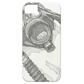 Gas mask drawing series iPhone SE/5/5s case