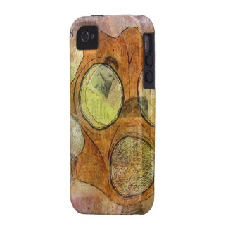 Gas Mask 'Everlasting Yea' iPhone4 CaseMate Case Case-Mate iPhone 4 Covers