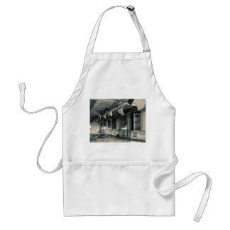 Gas Mask Factory Adult Apron
