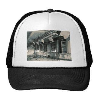 Gas Mask Factory Trucker Hat