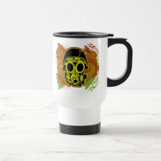 Gas Mask Fun Coffee Mug