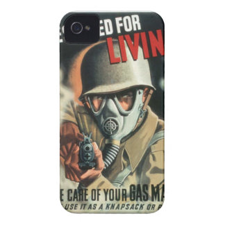 Gas Mask iPhone 4 Cover