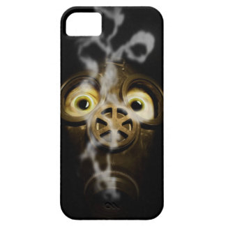 Gas mask iPhone 5 carcasas