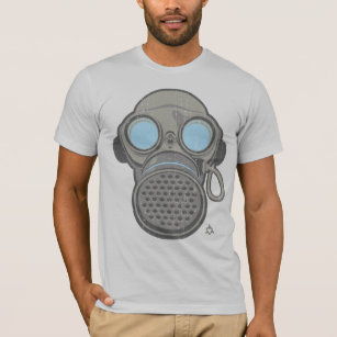 Back To Search Resultsmen's Clothing 100% Cotton O-neck Custom Printed Men T Shirt Dubstep Retro Gas Mask Women T-shirt Durable In Use