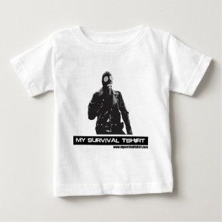 Gas Mask Man Baby T-Shirt