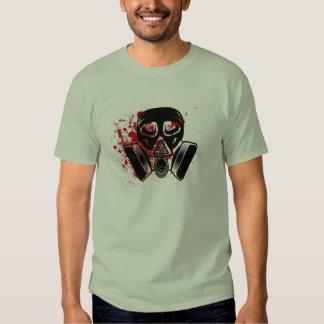 Gas mask Máscara de gás Gasmaske T Shirt