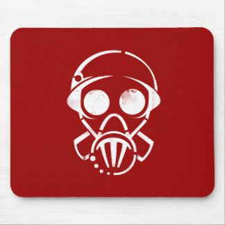 gas mask [mousepad] mouse pad