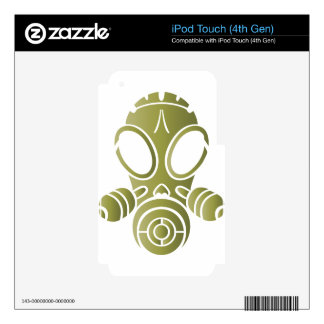 gas mask od gradient iPod touch 4G decals