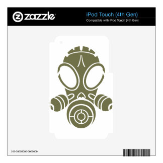 gas mask od green decal for iPod touch 4G