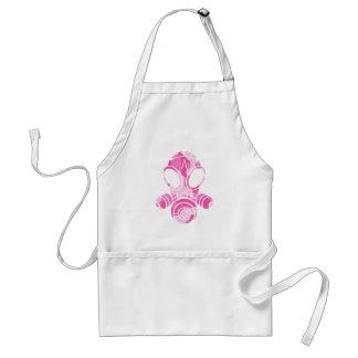 gas mask pink camo aprons