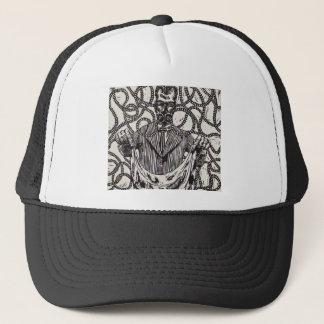 Gas Mask Printed Hat