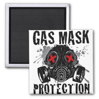 GAS_MASK_PROTECTION IMÁN CUADRADO